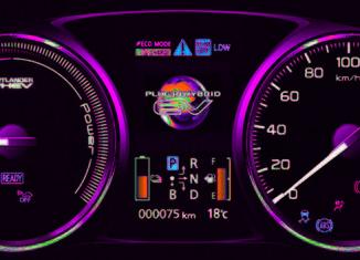 Mitsubishi Outlander PHEV interior 17