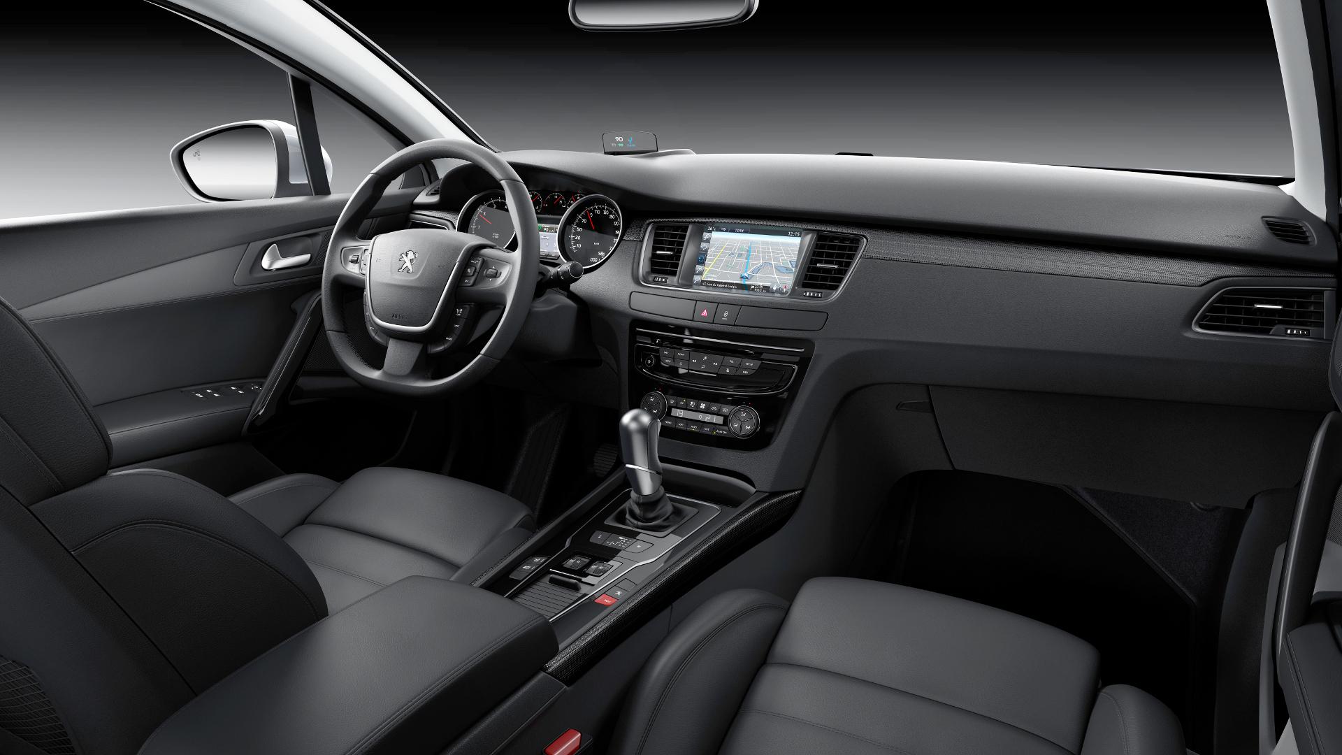 Peugeot 508 precios y equipamientos de toda la gama for Interior peugeot 508