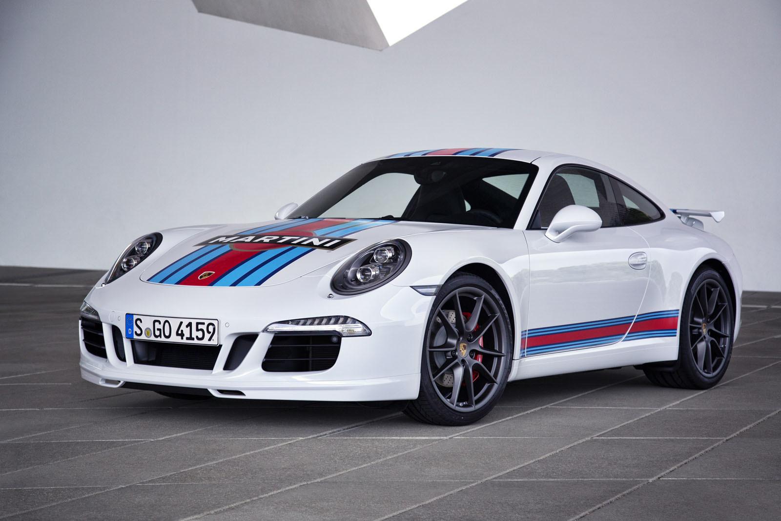 Porsche Carrera S Martini Racing Edition 2014 01