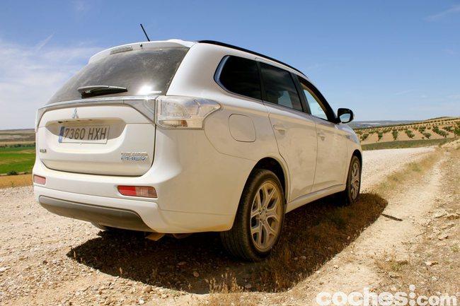 Prueba consumo Mitsubishi Outlander PHEV 2014 15