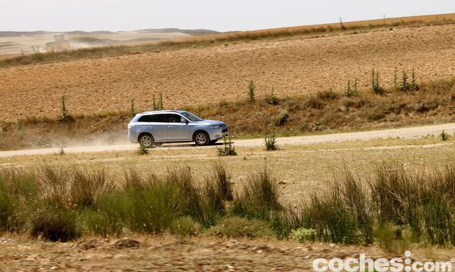 Prueba consumo Mitsubishi Outlander PHEV 2014 16