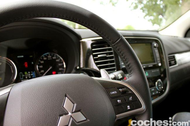 Prueba consumo Mitsubishi Outlander PHEV 2014 2