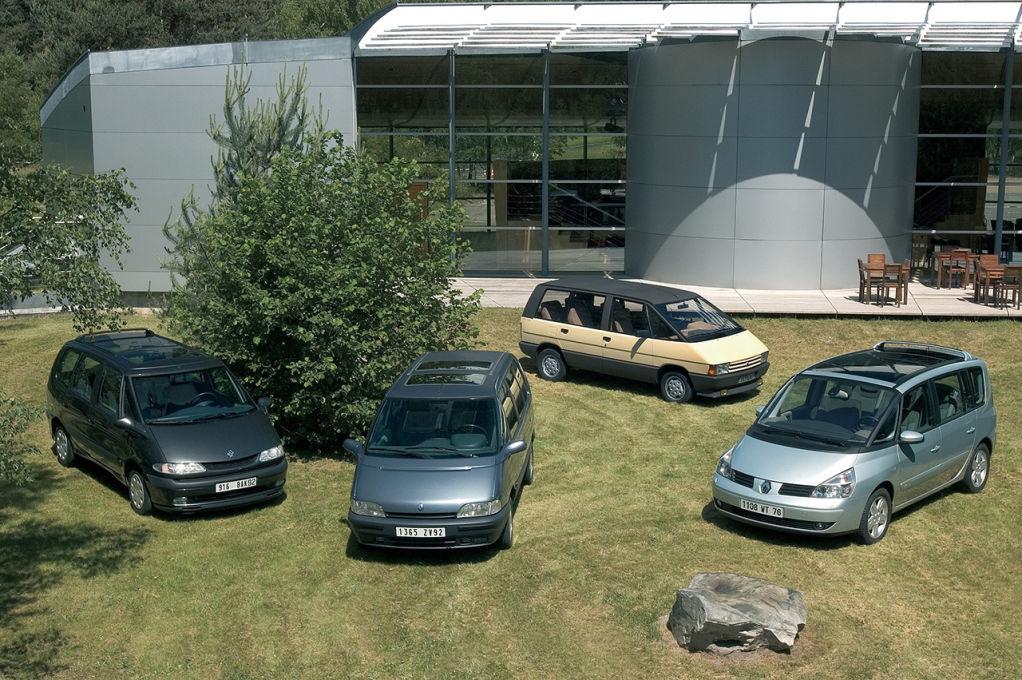 Renault Espace cuatro generaciones 1984-2014