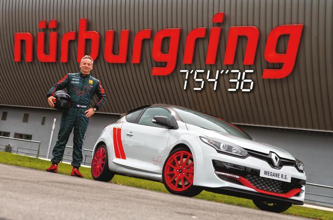 Renault Megane RS 275 Trophy-R Nürburgring 2014 05