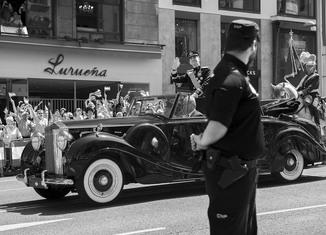 Rolls Royce descapotable coronación Felipe VI 650x432 El curioso origen del Rolls Royce que usó Felipe VI en su coronación