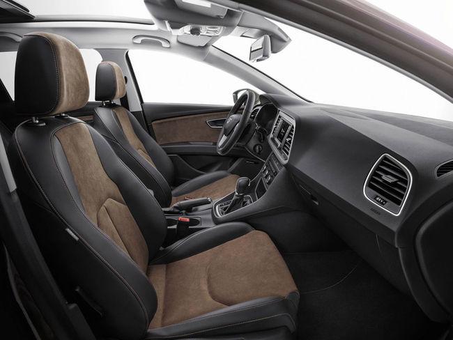 Seat Leon X-Perience 2014 interior 02