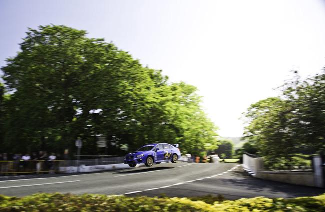 Subaru WRX STI Isla de Man 2014 04
