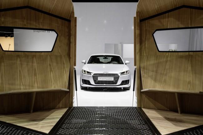 Audi TT Pavilion concept 2014 interior 02