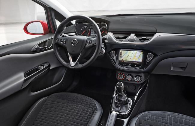Opel Corsa 2014 interior 01