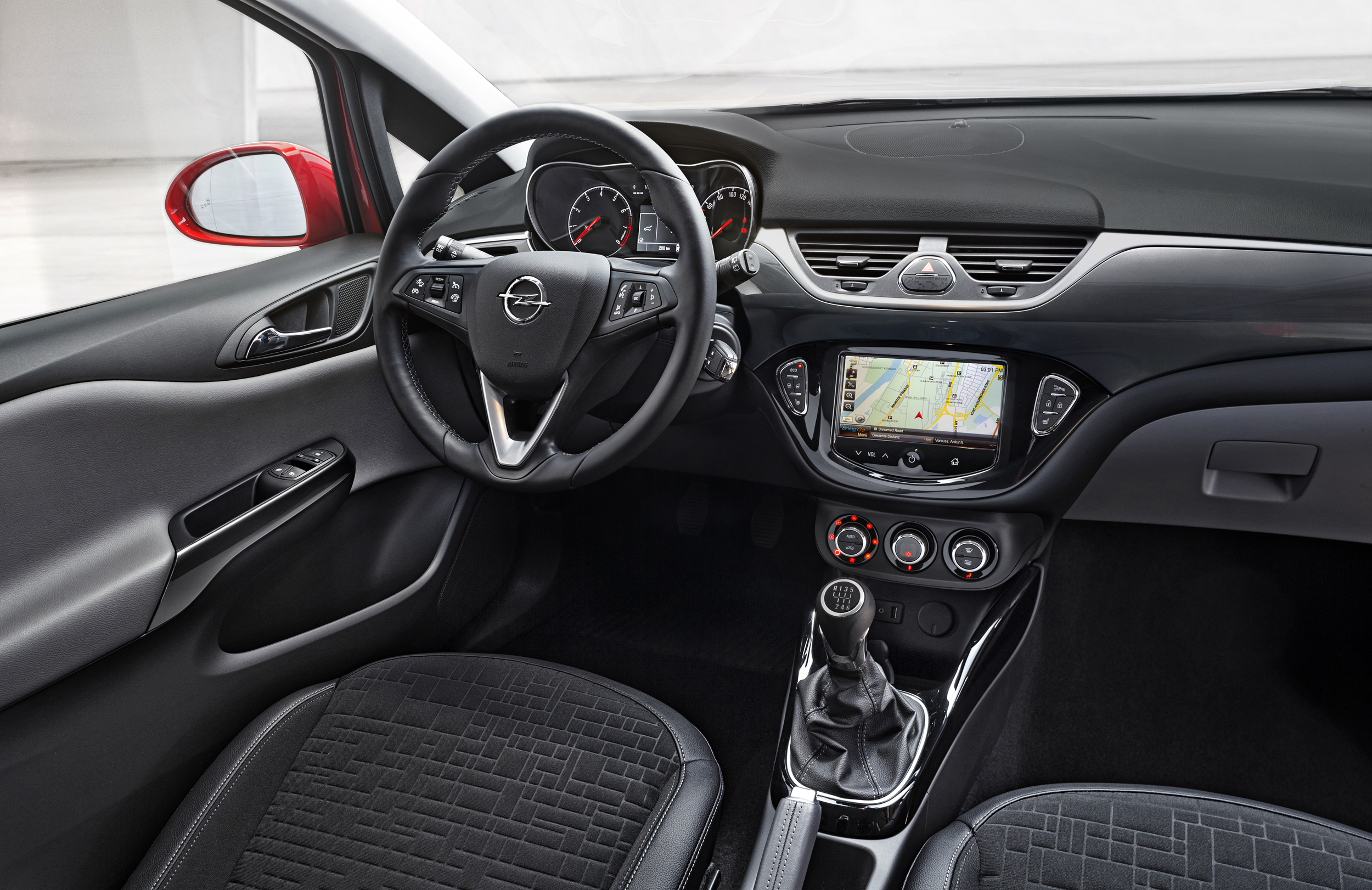 Nuevo opel corsa 2014 la quinta generaci n que viene for Opel corsa c interieur