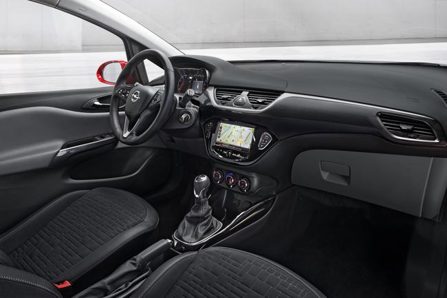 Opel Corsa 2014 interior 02