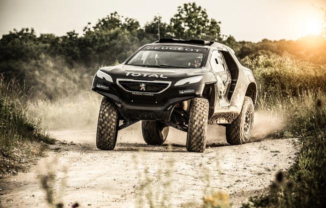 Peugeot 2008 DKR pruebas 2