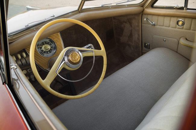 Tucker 48 interior
