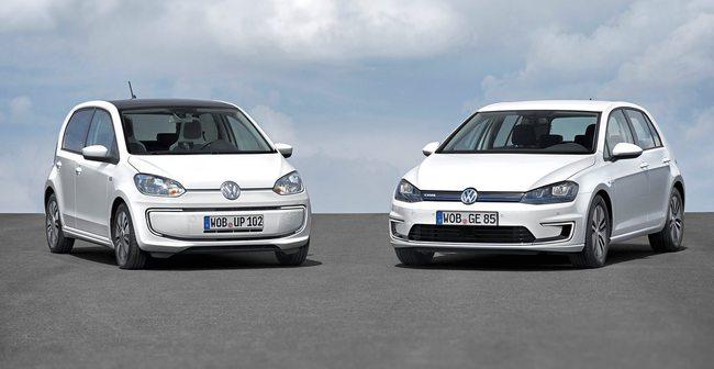 VW-e-Golf 2014 y VW e-Up 2014 01
