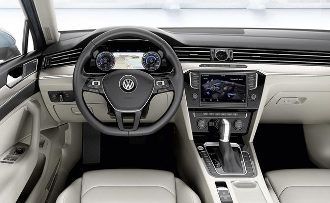 Volkswagen Passa 2015 interior 01