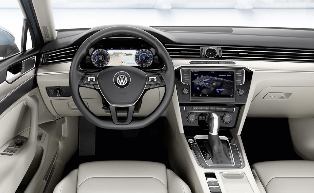 Volkswagen passat 2015 salto tecnol gico for Volkswagen passat interior