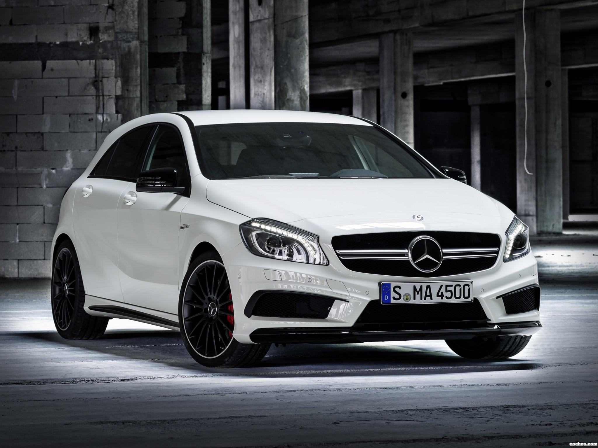 fotos de mercedes clase a a45 amg w176 2013. Black Bedroom Furniture Sets. Home Design Ideas