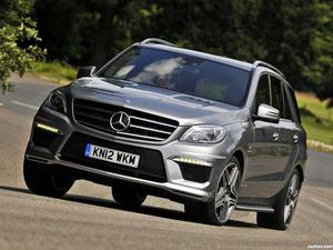 Mercedes Clase M ML63 AMG W166 UK 2012