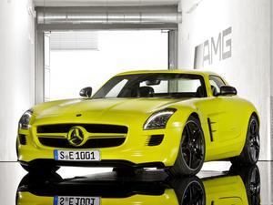 Mercedes SLS AMG E-CELL 2010