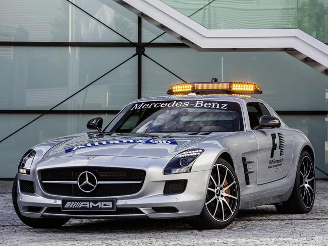 Fotos De Mercedes Sls Amg Gt Official F1 Safety Car 2012