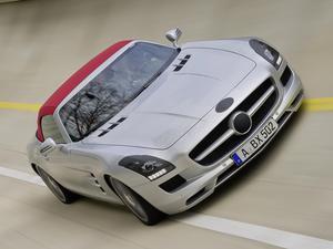 Mercedes SLS AMG Roadster 2011