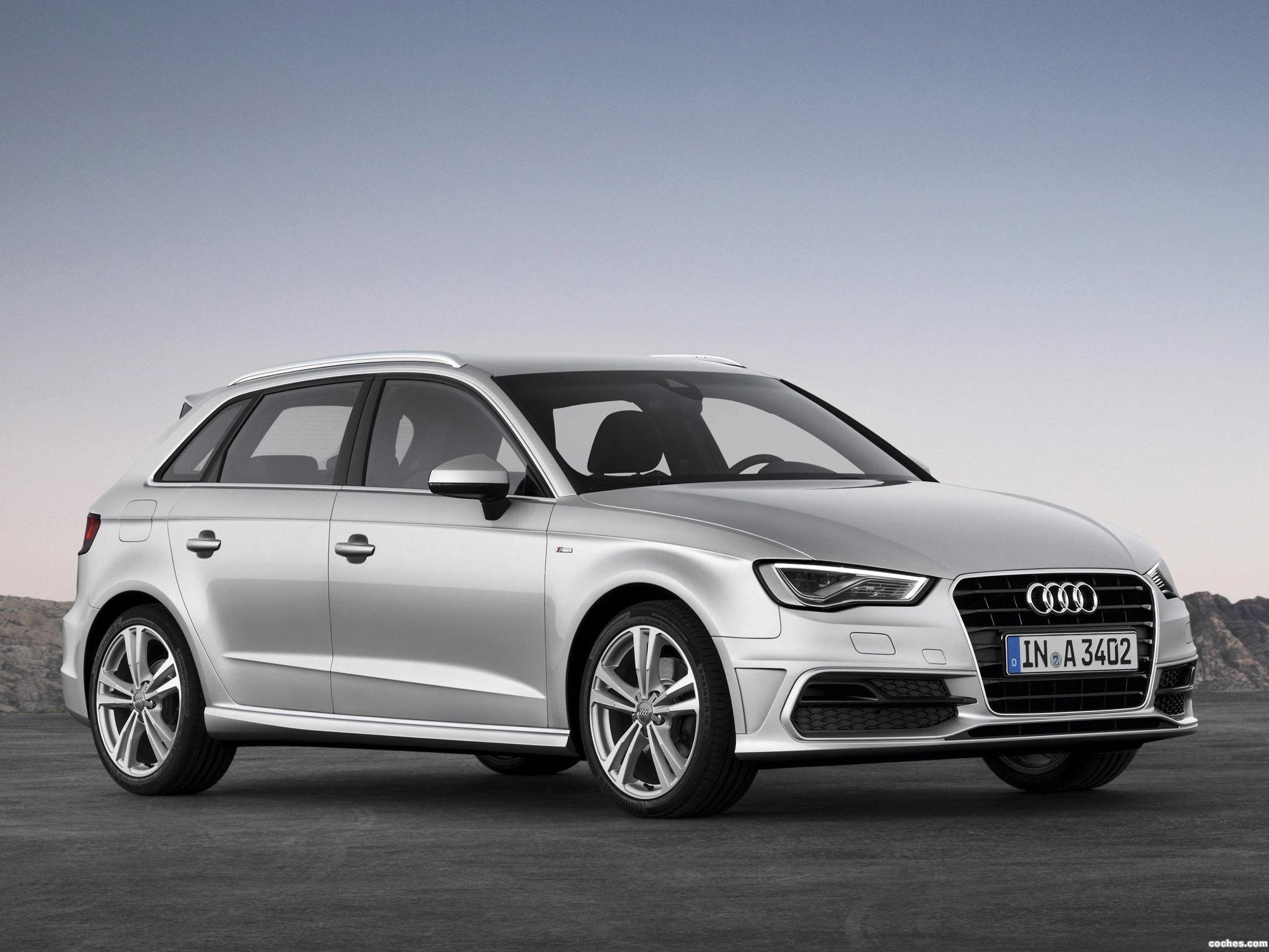 fotos de audi a3 sportback 2 0 tdi s line 2013. Black Bedroom Furniture Sets. Home Design Ideas