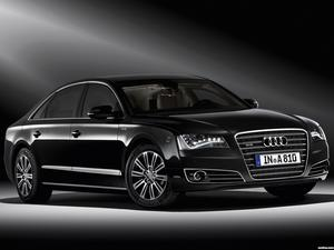 Audi A8L W12 Security D4 2010