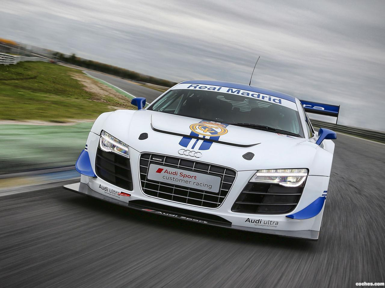 Fotos De Audi R8 Lms Ultra Real Madrid 2012