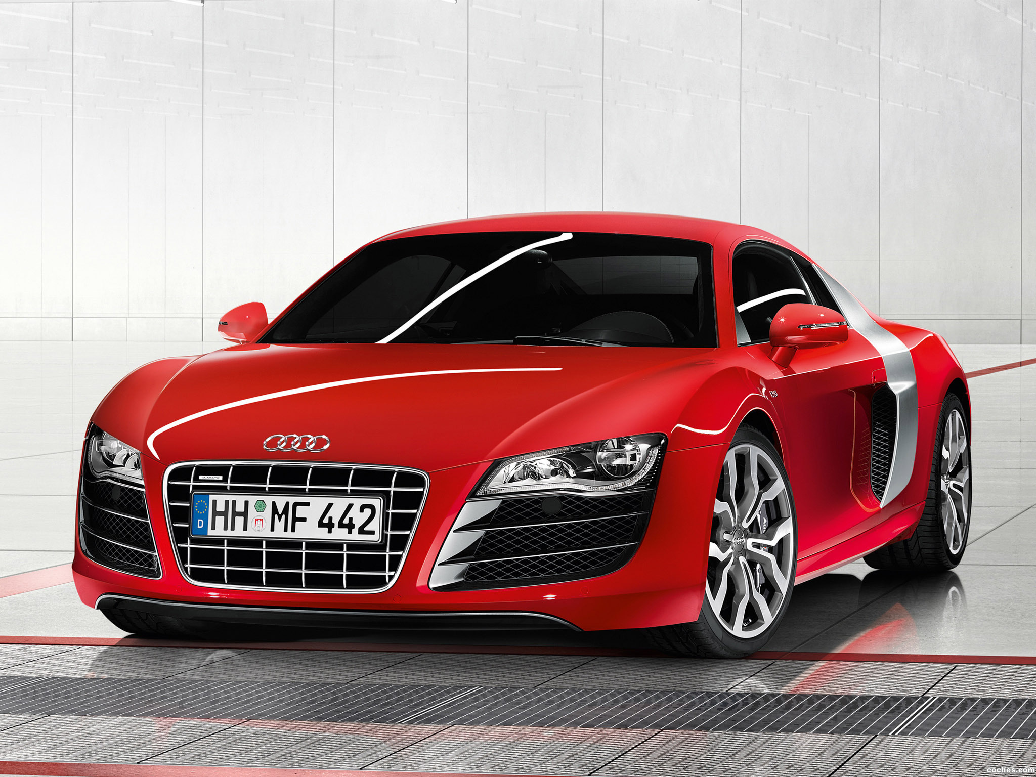 fotos de audi r8 v10 2009. Black Bedroom Furniture Sets. Home Design Ideas