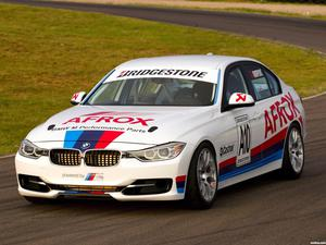 BMW Serie 3 Sedan Race Car F30 2012