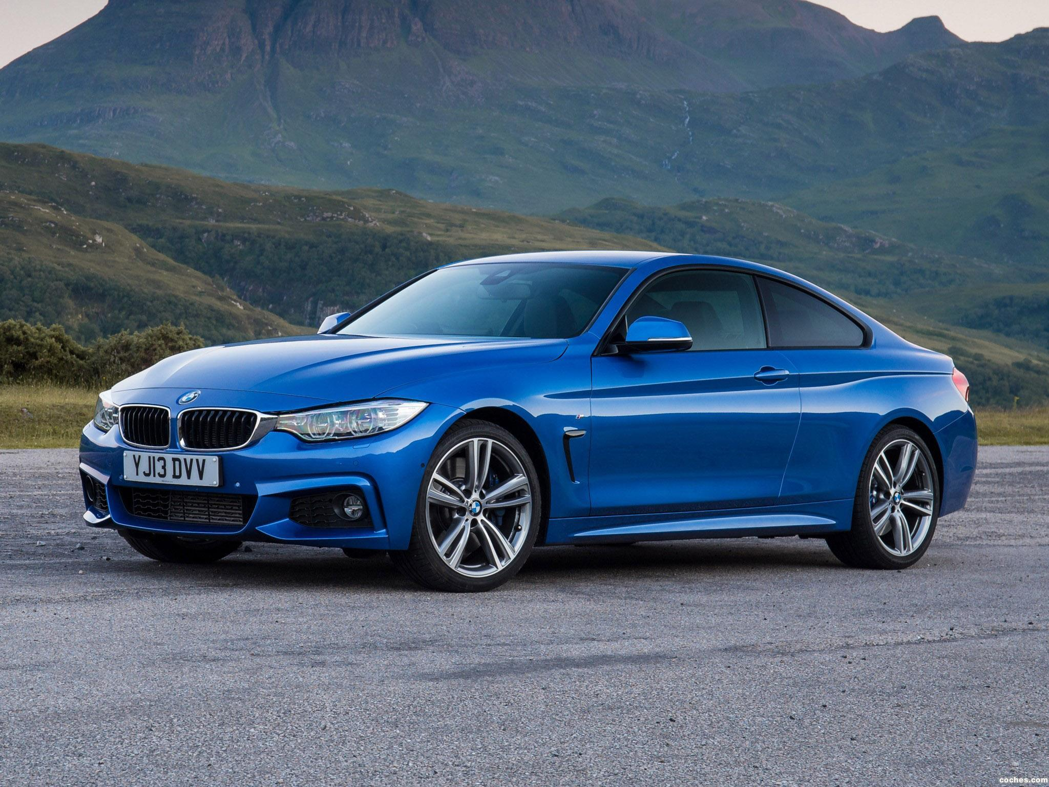 fotos de bmw serie 4 420d coupe m sport package uk f32 2013. Black Bedroom Furniture Sets. Home Design Ideas