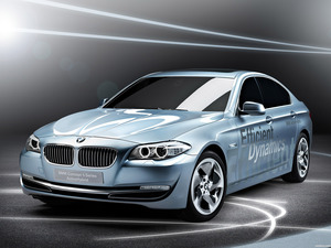 BMW 5-Series ActiveHybrid Concept 2010