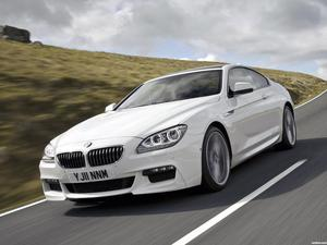 BMW Serie 6 640d Coupe M Sport Package F12 UK 2011