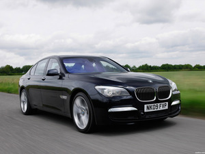 BMW Serie 7 M Sports Package UK F01 2009