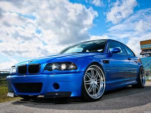 BMW M3 Strasse Forget E46 2012