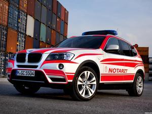 BMW X3 Notarzt F25 2011
