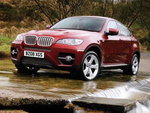 BMW X6 UK 2008