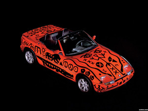 BMW Z1 Art Car by A.R. Penck E30 1991