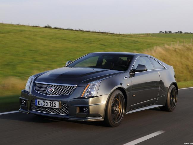 Fotos De Cadillac Cts V Coupe Black Diamond 2011