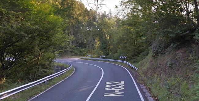 carretera peligrosa asturias