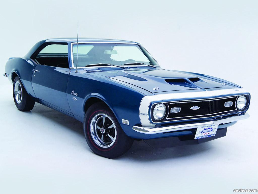 fotos de chevrolet camaro yenko ss 427 1968. Black Bedroom Furniture Sets. Home Design Ideas