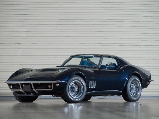 1969 Stingray Corvette >> Fotos de Chevrolet Corvette C3 Stingray L36 427 Coupe 1969 | Foto 2