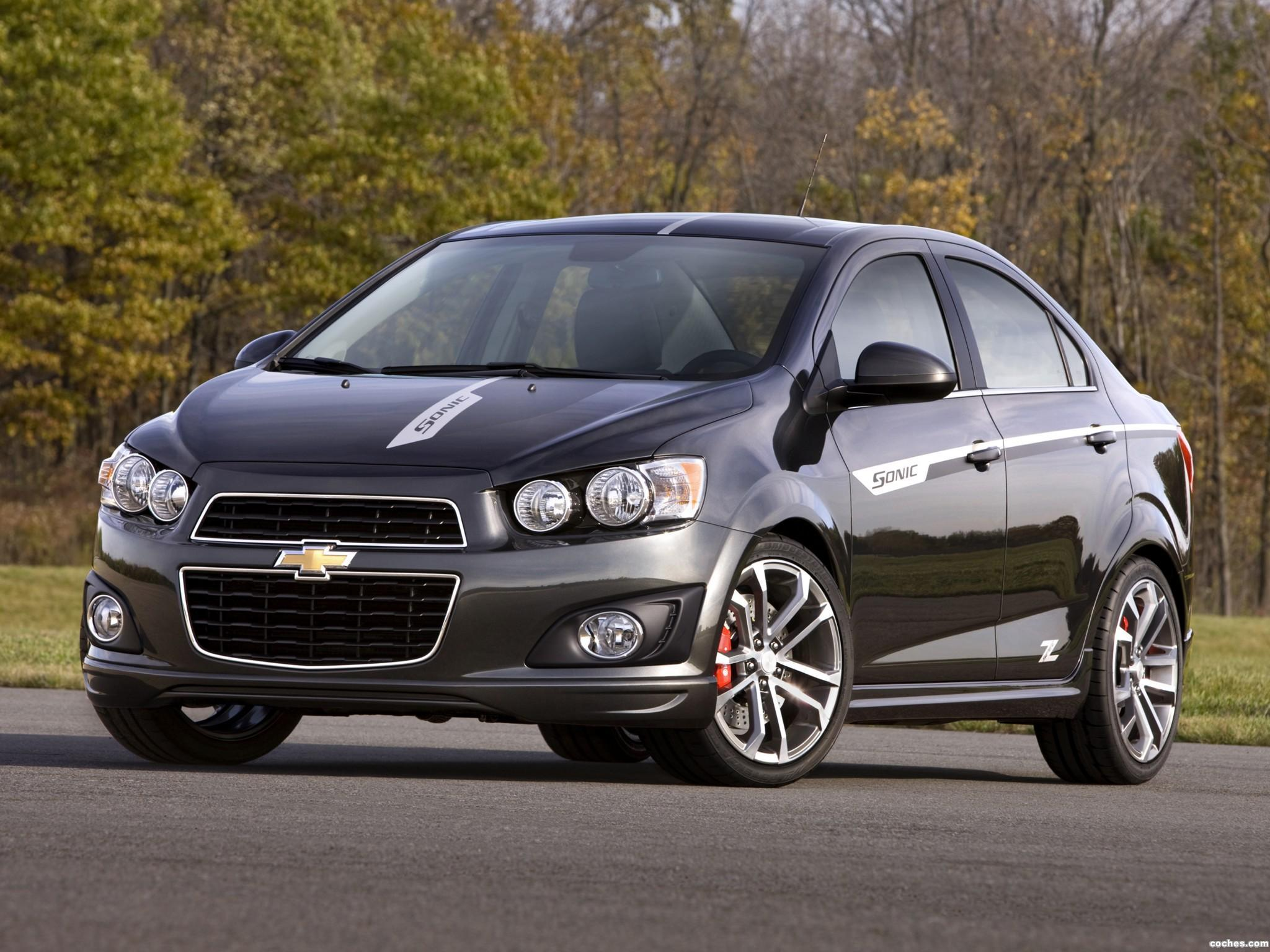 Chevrolet Sonic Z Spec Sedan Concept R on 2013 Chevy Sonic Lt Sedan Red
