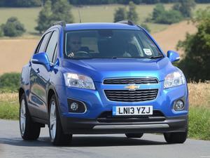 Chevrolet Trax UK 2013
