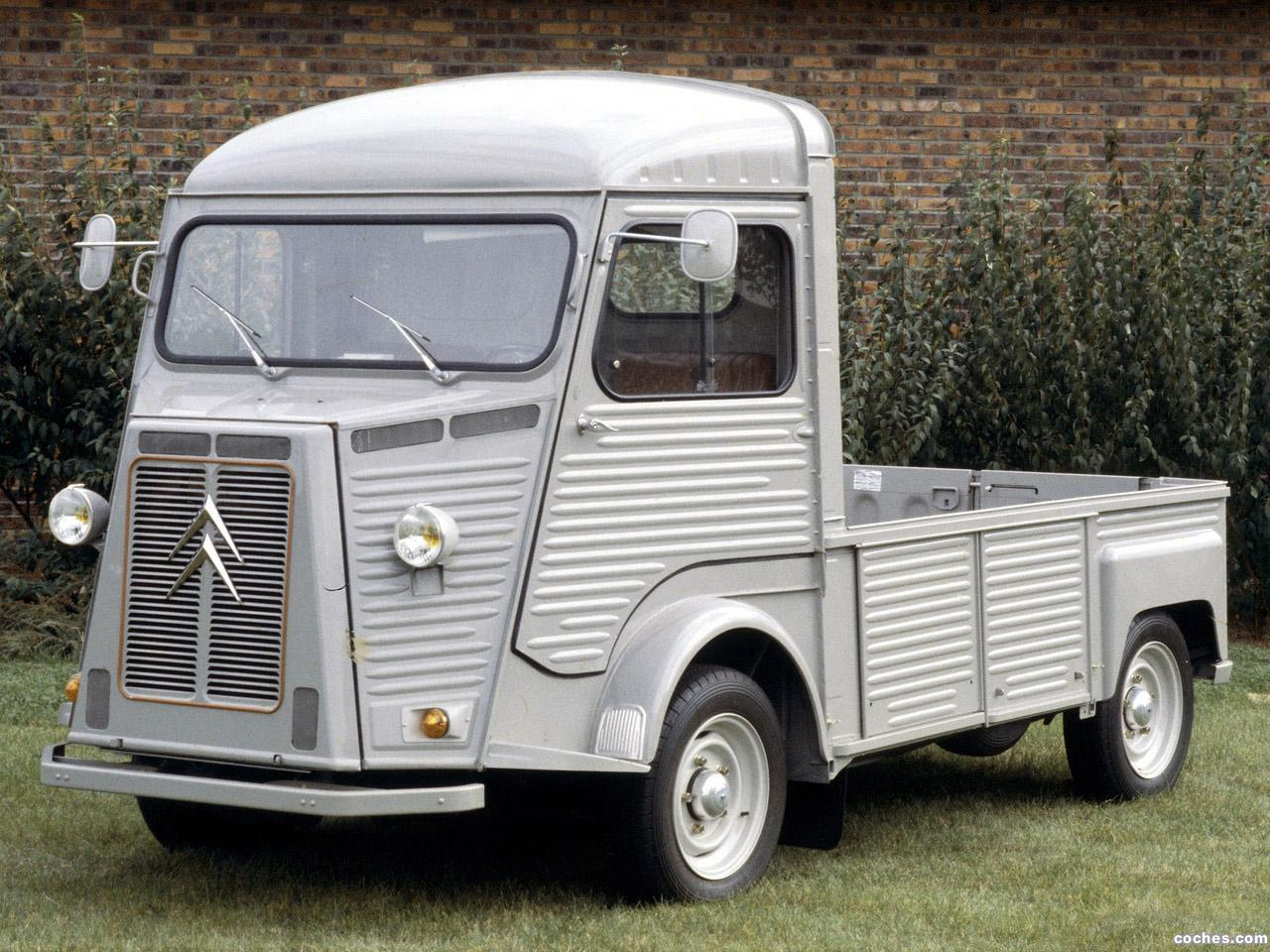 fotos de citroen hy pickup 1947. Black Bedroom Furniture Sets. Home Design Ideas