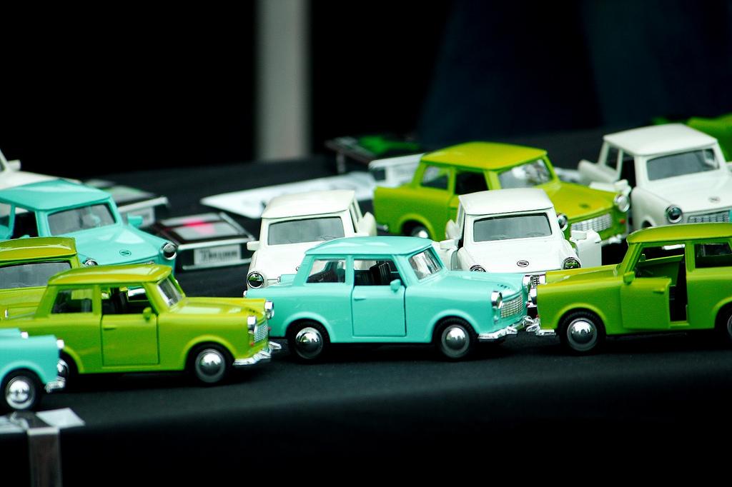 coches verdes