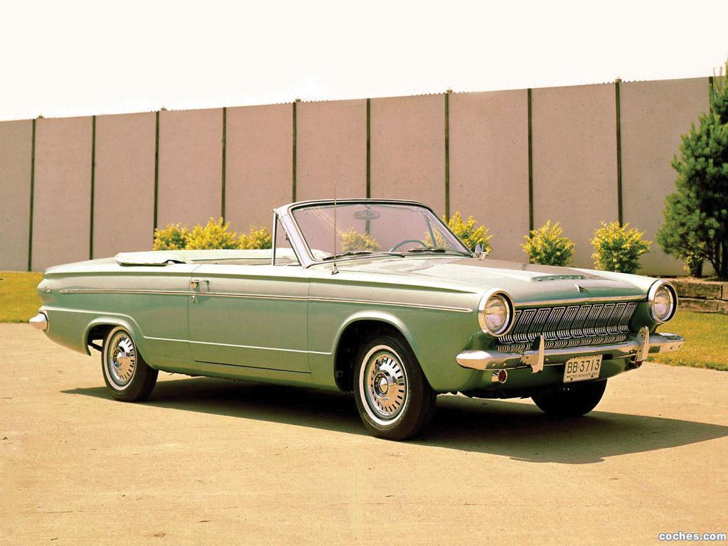 Fotos De Dodge Dart Convertible 1963