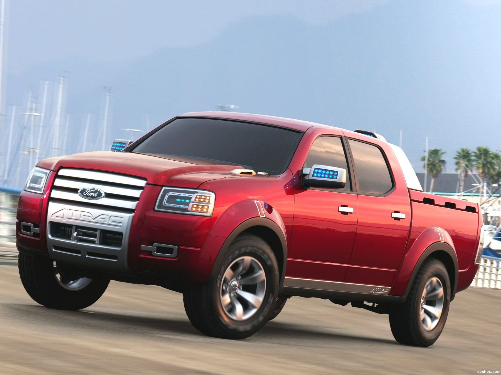Fotos de Ford 4Trac Pick-Up Concept 2005