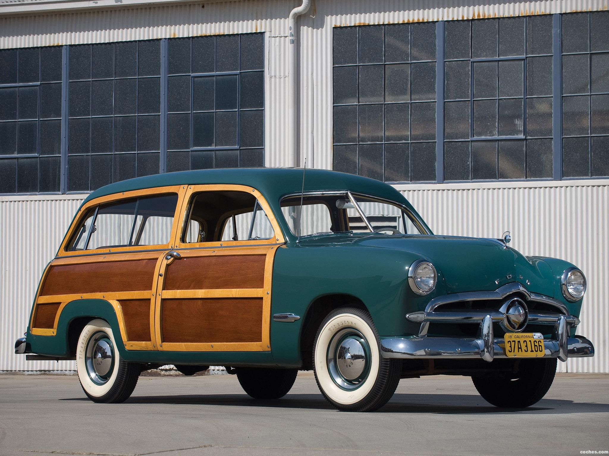 Fotos De Ford Custom Station Wagon 1949