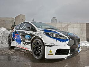 Ford Fiesta ST Global Rallycross Championship Race Rar 2013